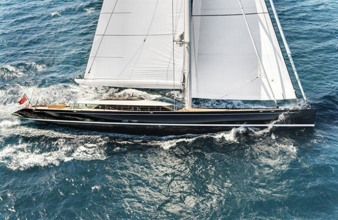Superyacht Kokomo will participate in the 2011 Dubois Cup Regatta - Credit Alloy Yachts