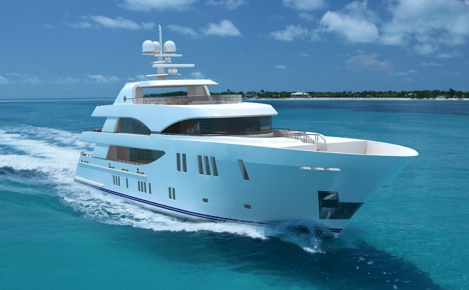 The 155 Tri-Level Superyacht from Ocean Alexander