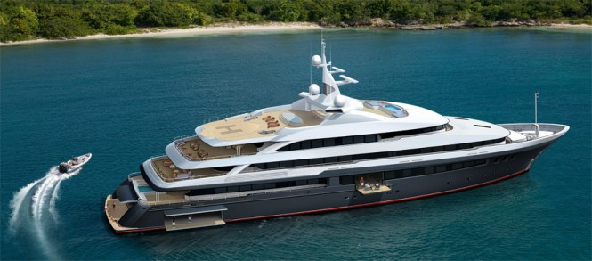 208' / 63.4 meter Expedition motor yacht by Delta Marine - PROJECT 200040