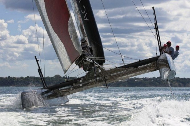 34th America's Cup Team Korea is an official challenger
