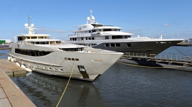 43m Motor Yacht Sunbeam launched by Icon Yachts