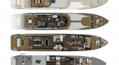 58.00m (190&#039;3) SuperYacht Egeria layout