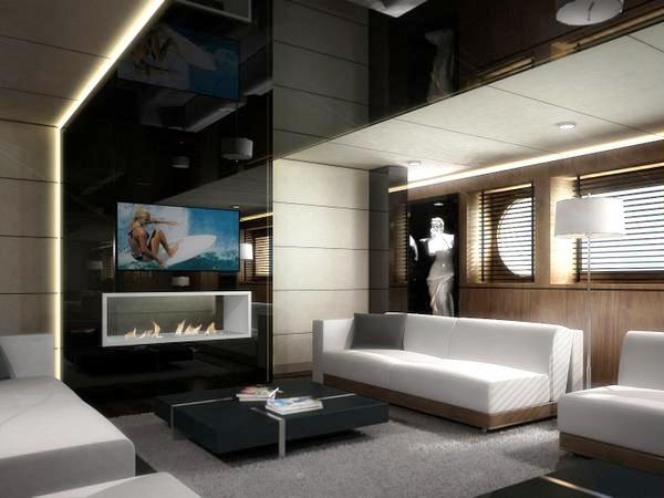 58m Yacht Egeria with interior design by Halit Yukay