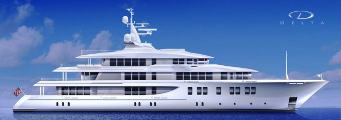 66m Superyacht by Delta Marine – Hull number 211042 in build