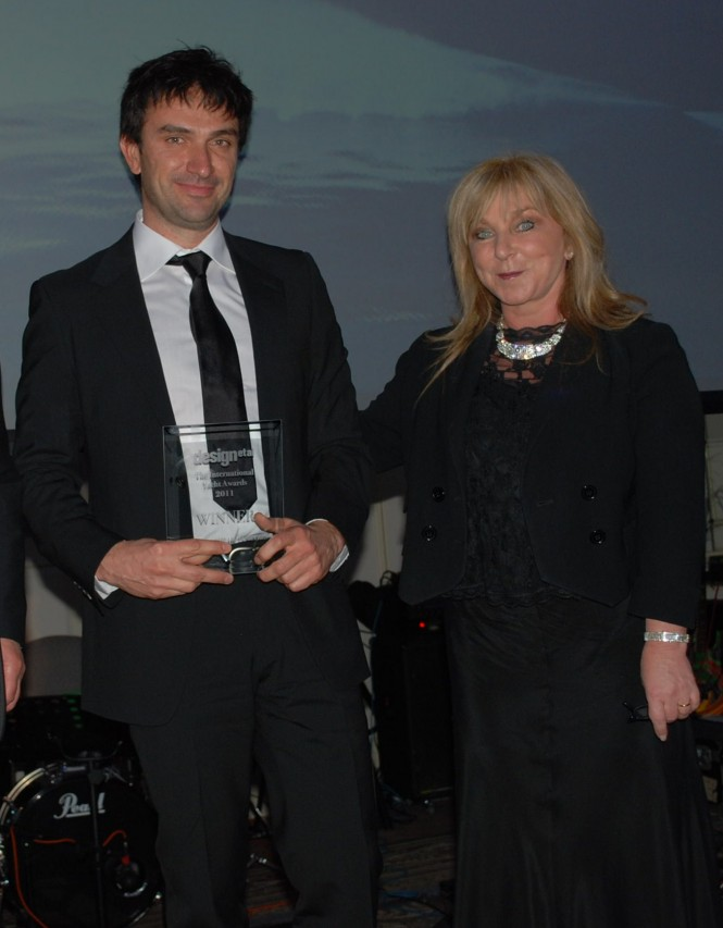 Art of Kinetik at the International Yacht Awards