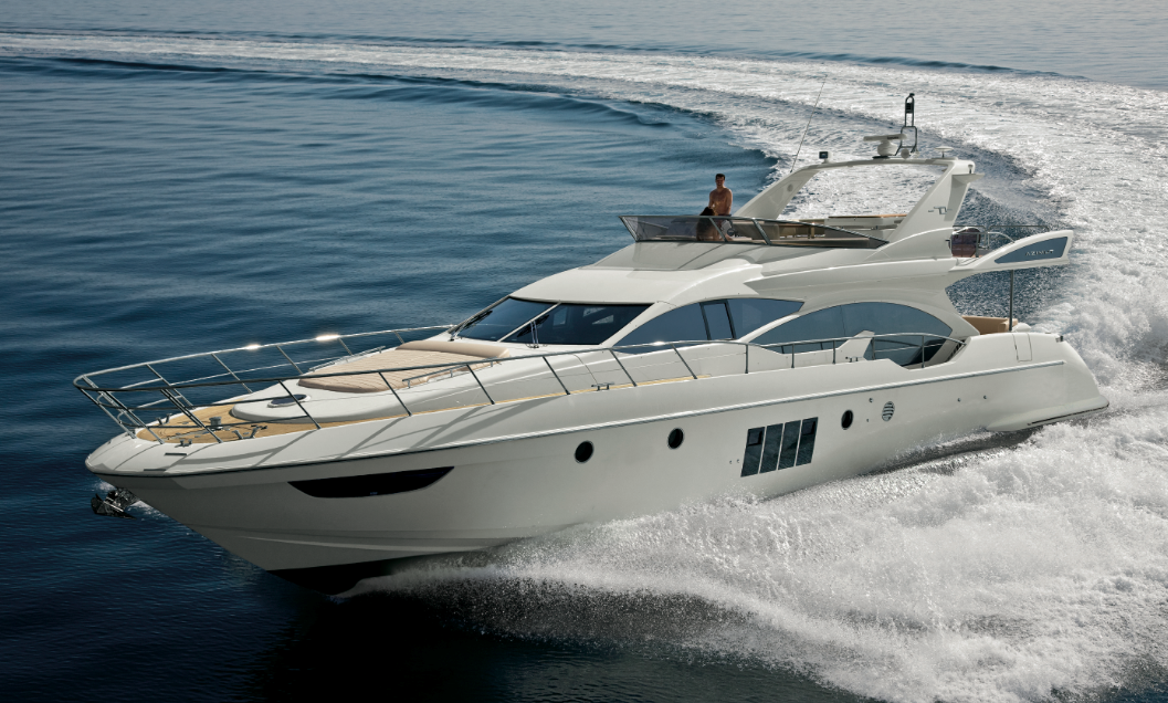 Azimut Flybridge 70 motor yacht - Image courtesy of Azimut Yachts