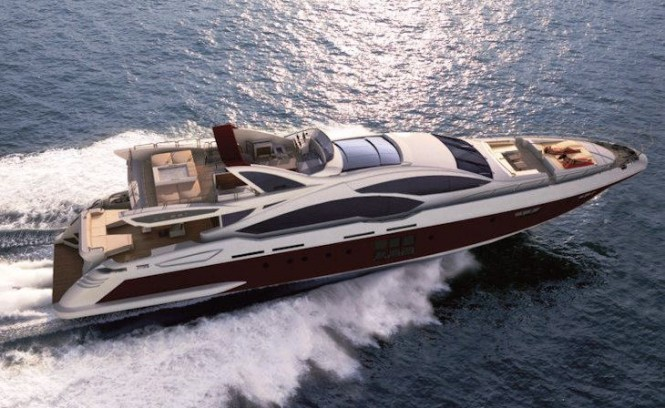 Azimut Grande 120SL motor yacht - the largest boat built by Azimut to date