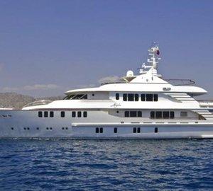 Motor Yacht MYSTIC wins design award at the Design Et Al International Yacht Awards 2011