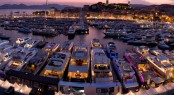 Festival de la Plaisance de Cannes Multihull section in the heart of the Vieux Port