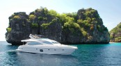 Gulf Craft sells Majesty 88 motor yacht at the Singapore Yacht Show.