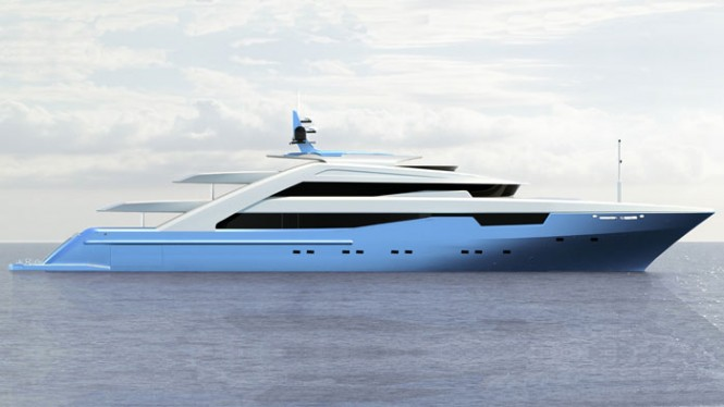 ISA 640 Motor Yacht design by Filippo Rossi and ISA