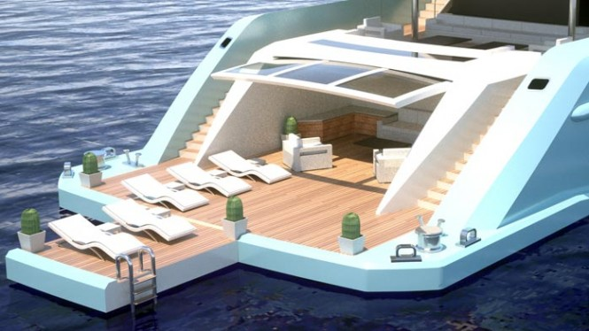 ISA 640 Superyacht design by Filippo Rossi and ISA