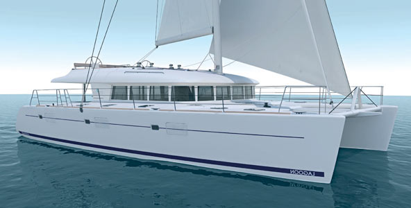 The Lagoon 620 Catamaran