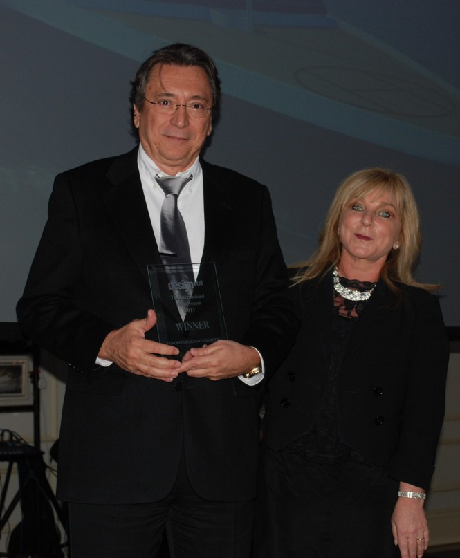 Luiz de Basto at the International Yacht Awards