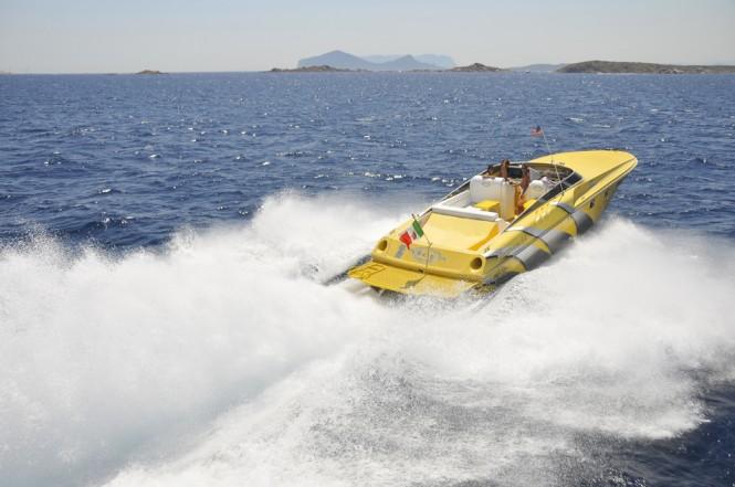 Magnum Banzai 44 motor yacht by Magnum Marine