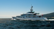 Motor yacht Talisman C by Proteksan Turquoise during her Sea Trials