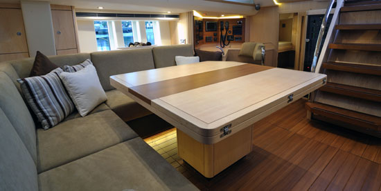 New Oyster 625 Sailing Yacht Salon - Credit Oyster Yachts