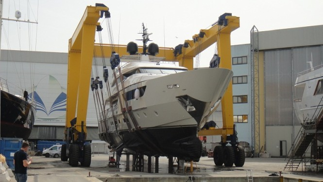 SD122 Motor Yacht Feluca launched by San Lorenzo