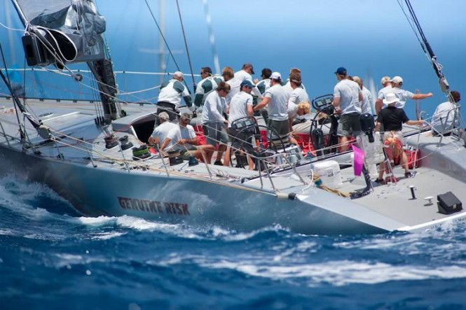 Sailing Yacht Genuine Risk at Les Voiles de Saint-Barth 2011 - Credit Christophe Jouany - Les Voiles de Saint-Barth