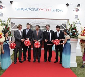 Inaugural Singapore Yacht Show at ONE°15 Marina Club