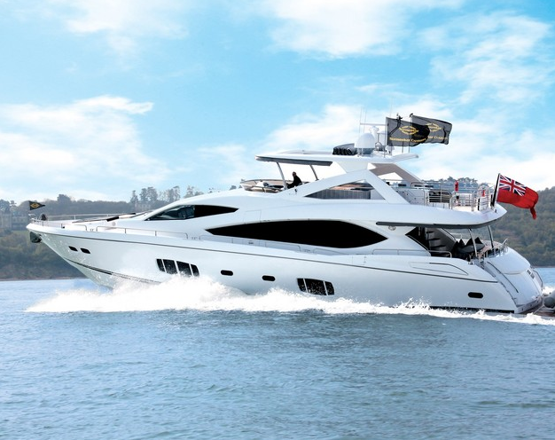 Luxury Sunseeker 88 yacht High Energy is the most prestigious vessel of her ...