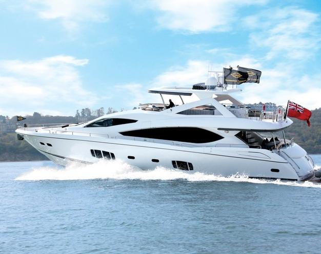 Sunseeker UK Charter Yacht 'High Energy' · Sunseeker 75 yacht charter ...