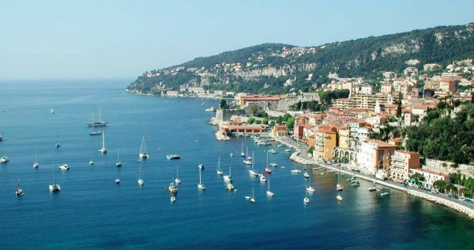 The French Riviera in July