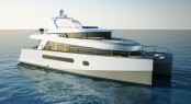 The new 58� trawler catamaran design by Stirling Design International and Alu Marine shipyard