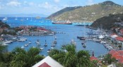 View of Gustavia - Les Voiles de St. Barth 2011 - Photo Credit Susan Maffei Plowden