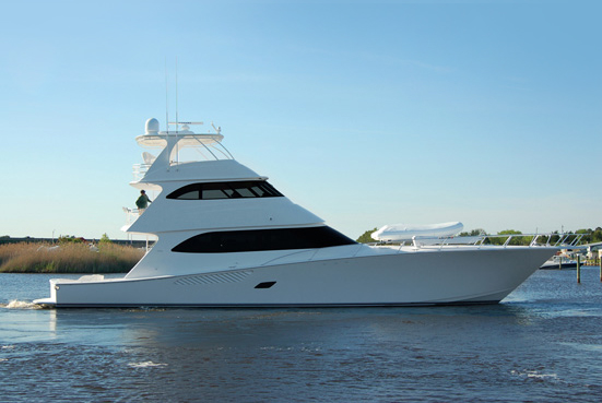 ... sportfishing convertible yachts. Vikings 82 Enclosed Bridge Motor Yacht