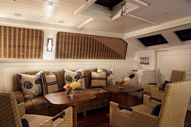 Pendennis Sailing Yacht Christopher Salon