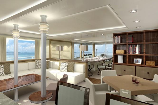 33m Curvelle Quaranta Yacht Project - Image Courtesy Curvelle Yachts