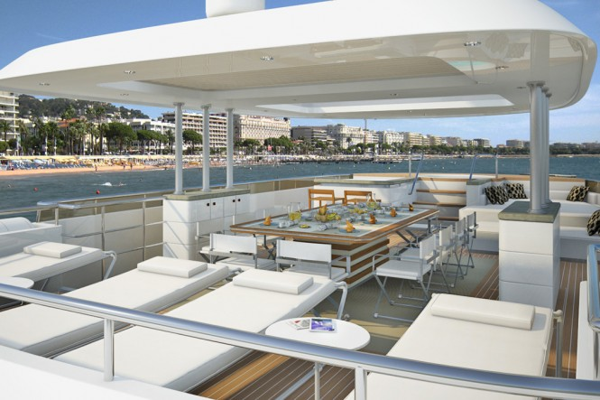 33m Superyacht by Curvelle Yachts - Image Courtesy Curvelle Yachts