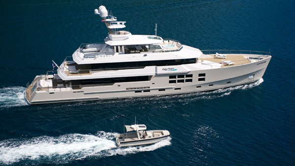 Expedition Motor Yacht Big Fish to attend Monaco Yacht Show 2011