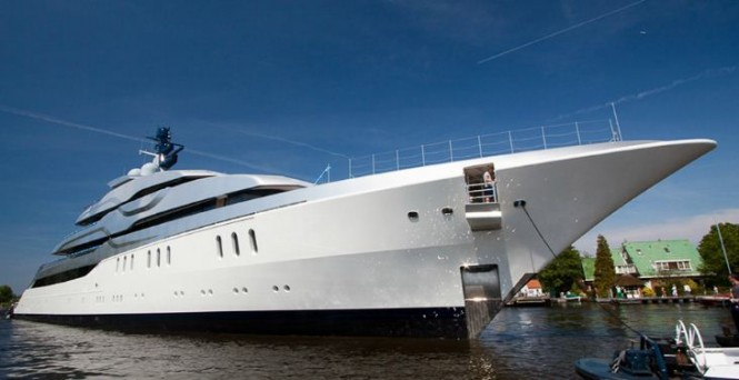 Feadship Yacht Tango - Image by Eidgaard Design
