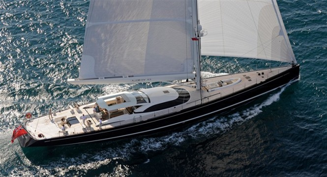 Sailing Yacht Lady B a 2011 ShowBoats Design Award Finalists