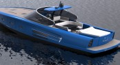 MD65 Power Yacht by Maxi Dolphin and Roberto Starkel - In Blue