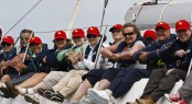 Mount Gay Rum sponsors Aberdeen Asset Management Cowes Week . Credit Owen Buggy - Plugphotography.com
