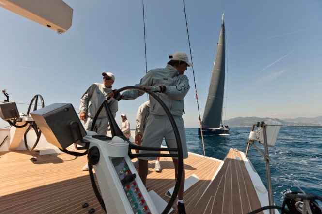 NESPRESSO CUP 2011 - Onboard Indio, winner of the 2011 NESPRESSO CUP Photo Guilain Grenier Nespresso Cup