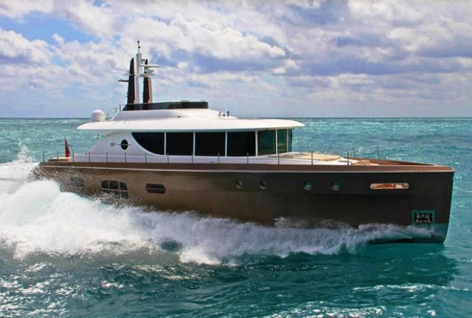 NISI 2400 motor yacht wins a 2011 International Superyacht Society (ISS) Design Award