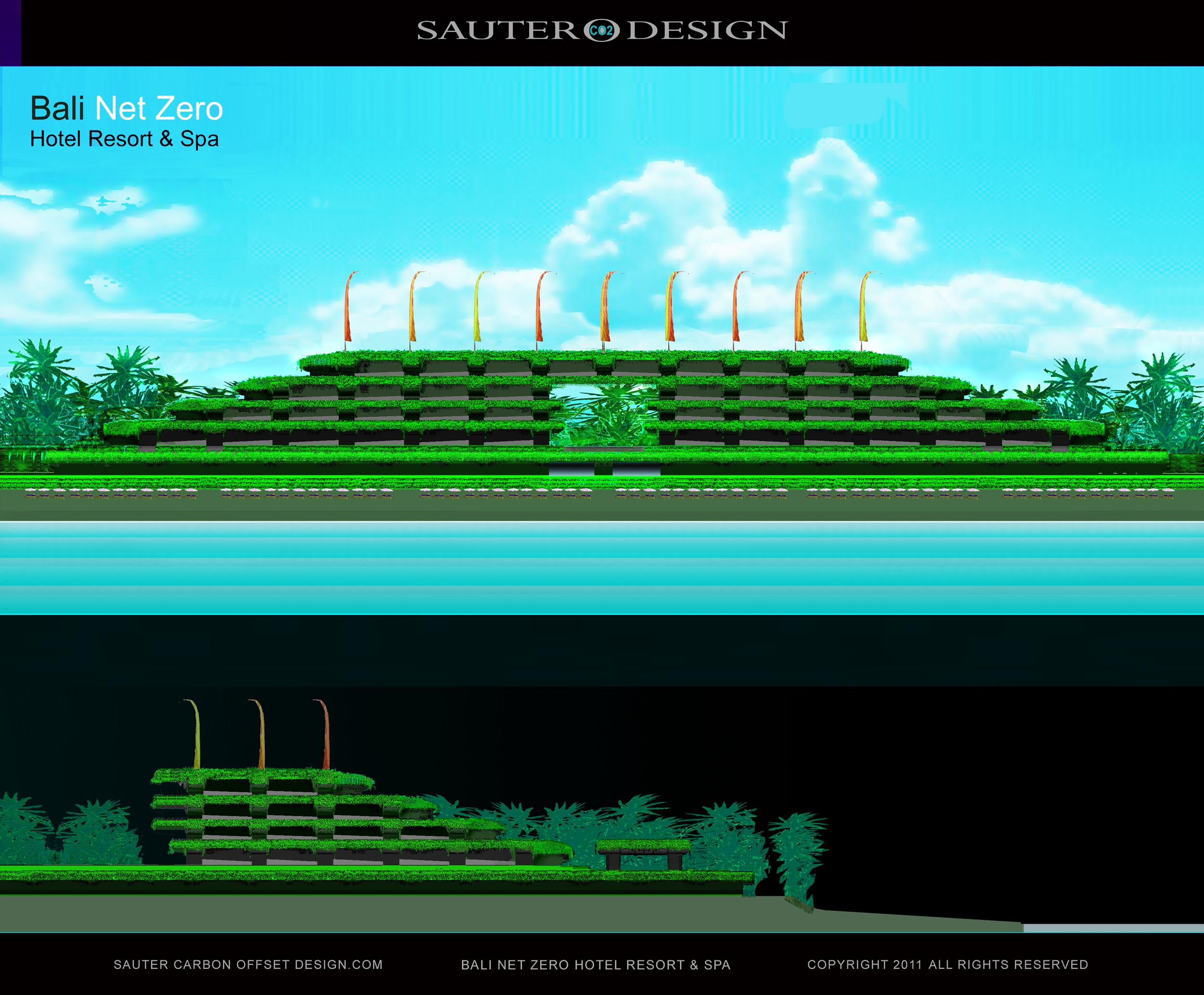 Net zero hotel seminyak power station in bali sauter for Net zero design