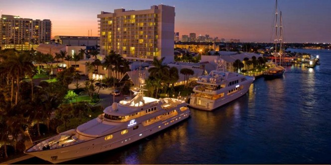 Ninth annual American Superyacht Forum  held at the Hilton Marina in Fort Lauderdal
