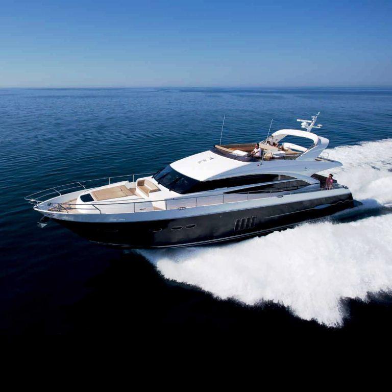 Princess 72 Motor Yacht By Princess Yachts Yacht Charter