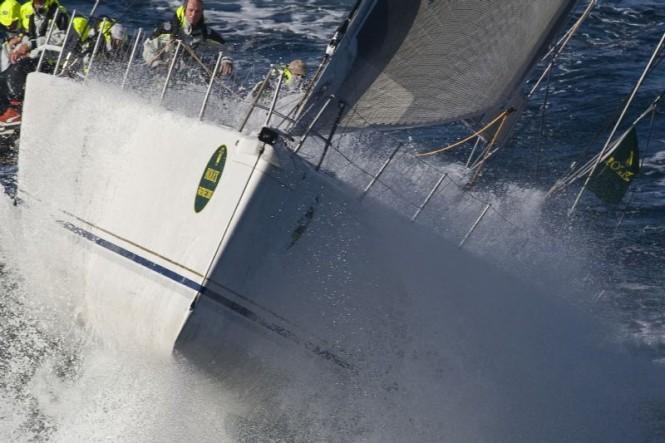 Sailing yacht RAMBLER, George David Rolex Fastnet Race 2007 Credit - ROLEX Carlo Borlenghi