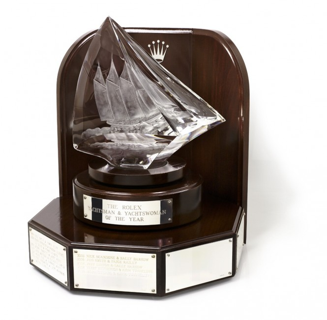 Rolex Yachtsman & Yachtswoman of the Year Awards Trophy