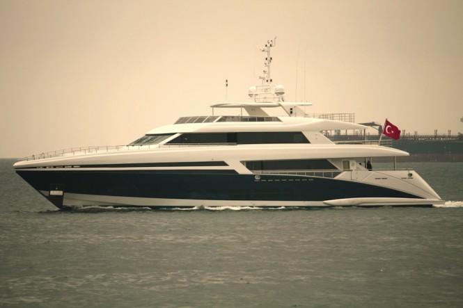 Superyacht Tatiana - a Bilgin 145 Yacht