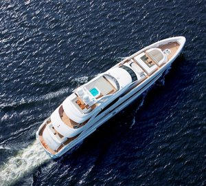 Luxury yacht JEMS reduces Mediterranean charter rate for June