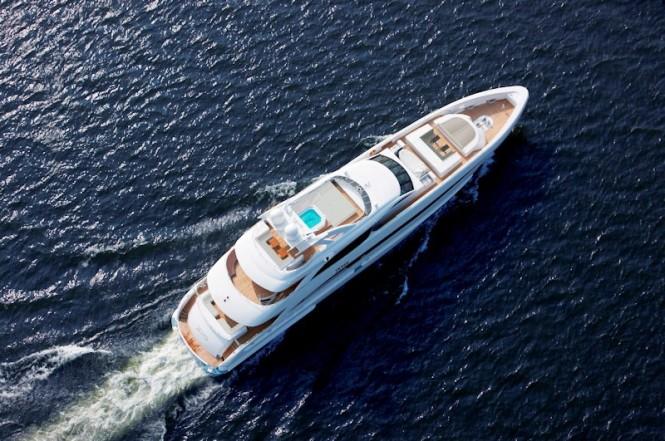 The 44 m Heesen yacht Jems