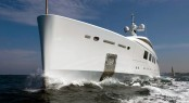 The 65 metre yacht NATALY at her sea trials - photos by Benetti