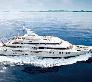75 metre Motor Yacht REBORN for Charter